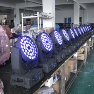 DMX Stage 36X18W RGBWA UV 6in1 LED Moving Head Disco Light pictures & photos