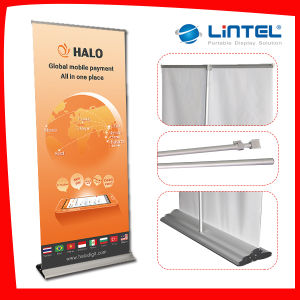 New Design Pop up Display Aluminum Roll up Banner (LT-0R) pictures & photos
