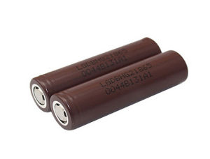 LG Hg2 18650 3000mAh 20A Brown Battery pictures & photos