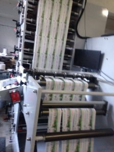 Food Packing Kraft Paper Bag Printing Machine pictures & photos