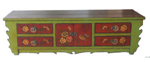 Chinese Antique Painted TV Cabinet TV126 pictures & photos