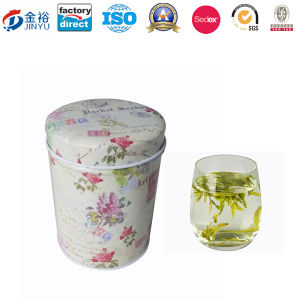 Chinese Green Tea Tin with Inner Lid pictures & photos