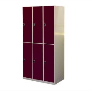 Modern Design 6-Door Electric Compartment Steel Locker pictures & photos