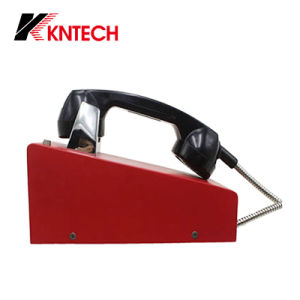 Desk Type Telephone for Emergency Call Knzd-28 Kntech pictures & photos
