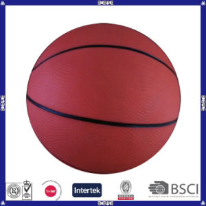 Hot Sell Promotional Customized Logo Rubber Basketball 7 pictures & photos