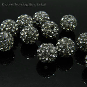New Fashion Wholesale Resin Rhinestone Ball Beads pictures & photos