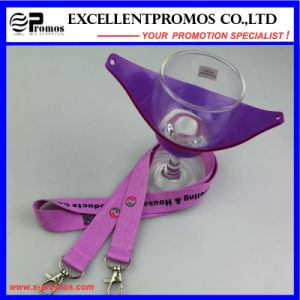 Custom Logo Wine Glass Holder Lanyard Promos (EP-Y581406) pictures & photos