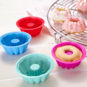 Atoxic Silicone Rubber Promotion Gift Bakeware Cake Baking Mould pictures & photos