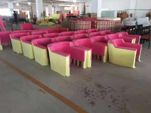 Hotel Furniture/Hotel Bedroom Furniture/Hotel Living Room Sofa/Canteen Sofa/European Style Luxury Hotel Lobby Sofa (NCHS-006) pictures & photos