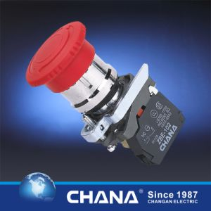 Ce RoHS CB2 Series Mushroom Head Pushbutton Switch pictures & photos