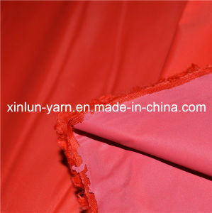 Woven PU Coated Waterproof Nylon Fabric for Downjacket/Bag/Tent pictures & photos
