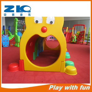 New Caterpillar Type Tunnel Kids Plastic Tube Slide Indoor Playground pictures & photos