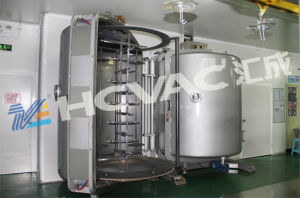 Plastic Silver Cutlery Coating Machine Aluminum Silver Spoon Vacuum Coating Machine pictures & photos