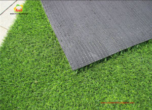 Airport Grass Landscape Turf 25mm Monofil PE Yarn pictures & photos