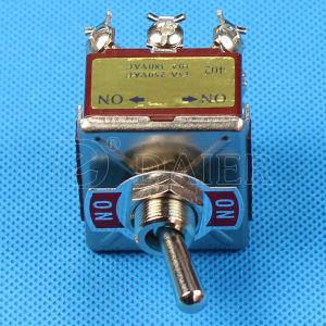 E-Ten 4 Pole on-on Double Throw Large Toggle Switch (KN-402) pictures & photos
