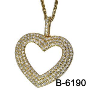 New Design Fashion Jewelry 925 Sterling Silver Pendant with Love pictures & photos