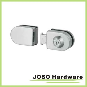Glass to Glass Zinc Alloy Shower Glass Door Combination Lock (GDL004B) pictures & photos