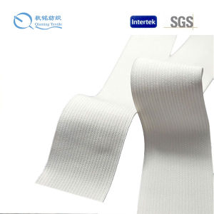 2016 Hot Sale High Quality and Durable Yarn Polyester Elastic Webbing pictures & photos
