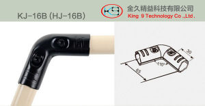 180 Degree Rounded Corner Joint (KJ-16D) pictures & photos