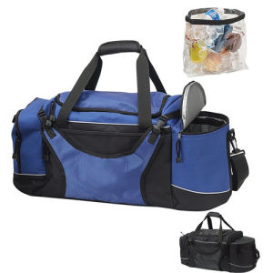 Sport Gym Duffel Travel Bag with Cooler Compartment pictures & photos