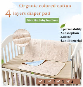 Organic Colored Cotton Waterproof Baby Sleep Changing Diaper pictures & photos