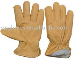 Winter Glove-Pig Leather Glove-Driver Glove-Working Glove pictures & photos