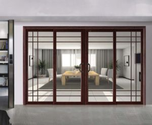 Hot Design Thermal Break Aluminum Sliding Doors pictures & photos