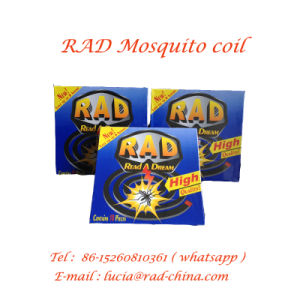 12.5 Cm Black African Market Mosquito Coil