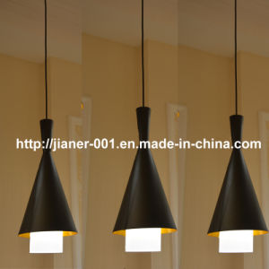 Nice Aluminium Black&Gold LED Pendant Lighting for Hotel Bar pictures & photos