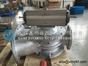135 Degree Special Pneumatic Actuator Ash Valve pictures & photos