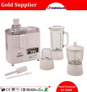 4 in 1 Mult Function Food Processor Include: Juicer, Blender, Grinder, Mincer pictures & photos