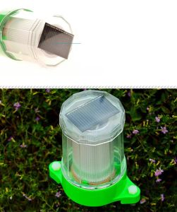 Solar Colored Lawn Lamp Without Electricity pictures & photos