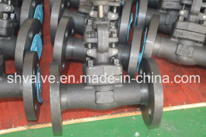 API 602 Flanged Connection Forged Globe Valve with Rising Stem