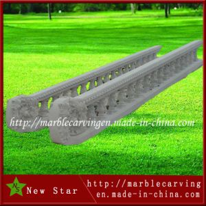 White Marble Garden Railing Hand pictures & photos