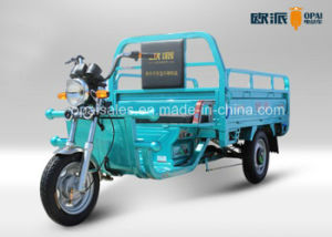 Electric Tricycle EEC Tubless Tire Electric Cargo Trike Headlight with Big Hopper pictures & photos