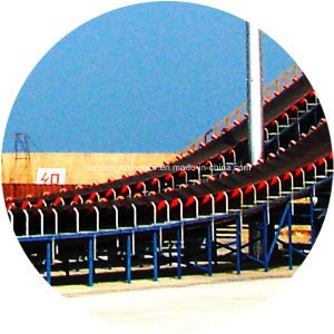 Large Inclination Belt Conveyor / Conveyor System for Sea Port/Harbor pictures & photos