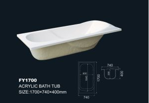 Acrylic Bathtub in Different Style pictures & photos