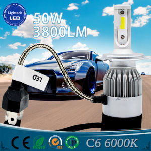 Newest Design Highlight Condenser H4 4800lm Car LED Headlight 50W Auto Lamp pictures & photos