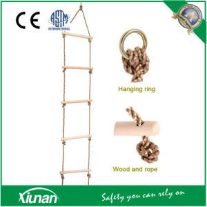 Kids Climbing Rope Ladder Wooden Rungs Rope Ladder pictures & photos
