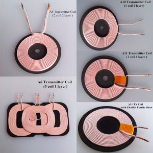Qi Charging Transmitter Wireless Charger Coil with Ferrite Shield pictures & photos