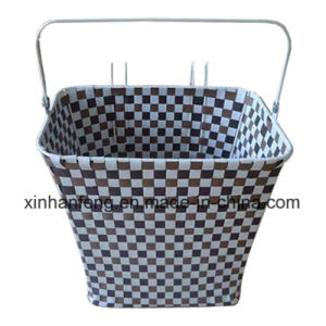 Promotion Plastic Rattan Bicycle Basket for Bike (HBK-116) pictures & photos
