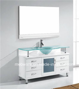 Floor Mounted Solid Wood Bathroom Furniture pictures & photos