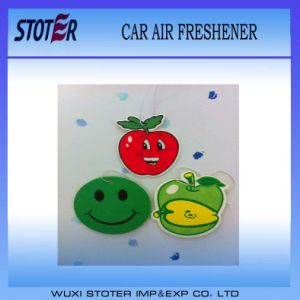 Promotional Cheap Paper Hanging Car Air Freshener pictures & photos