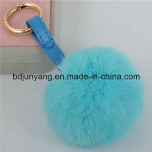 Real Rex Rabbit Fur POM Balls for Bag and Car pictures & photos