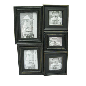 Wooden Photo Frame in Multiple Opening pictures & photos