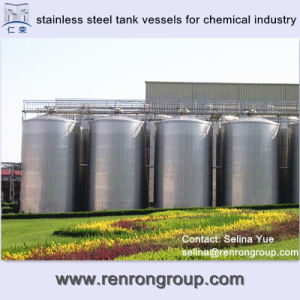 Vertical Stainless Steel Tank Vessels for Chemical Industry V-05
