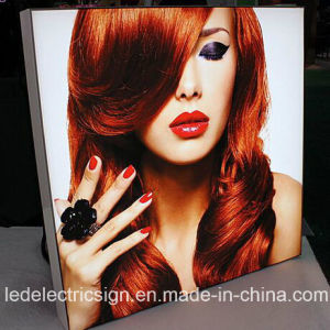 Aluminum Tension Fabric Frame LED Light Box pictures & photos