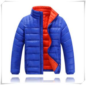 High Quality Wholesale Hood Ultra Thin Foldable Girl Boy Down Jacket for The Winter 607