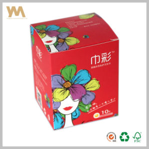 Paper Box with Mirror Polished for Sanitary Towel pictures & photos