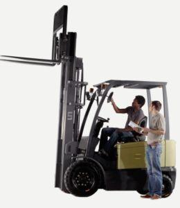 Un 4-Wheel 3.0t 3000kg Electric Forklift (FB30-AZ1) pictures & photos